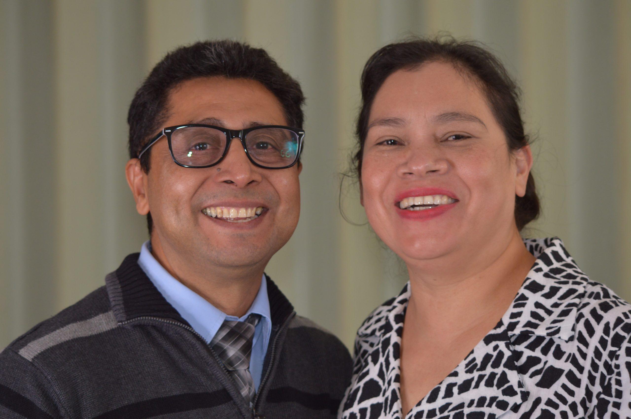 Manuel y Adriana Quintanilla